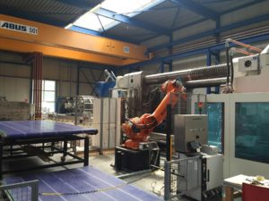 High-pressure injection moulding